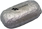 Baked Potato or Burrito In Foil Stress Balls